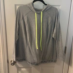 Torrid Active Strong Beautiful Bold Sweater